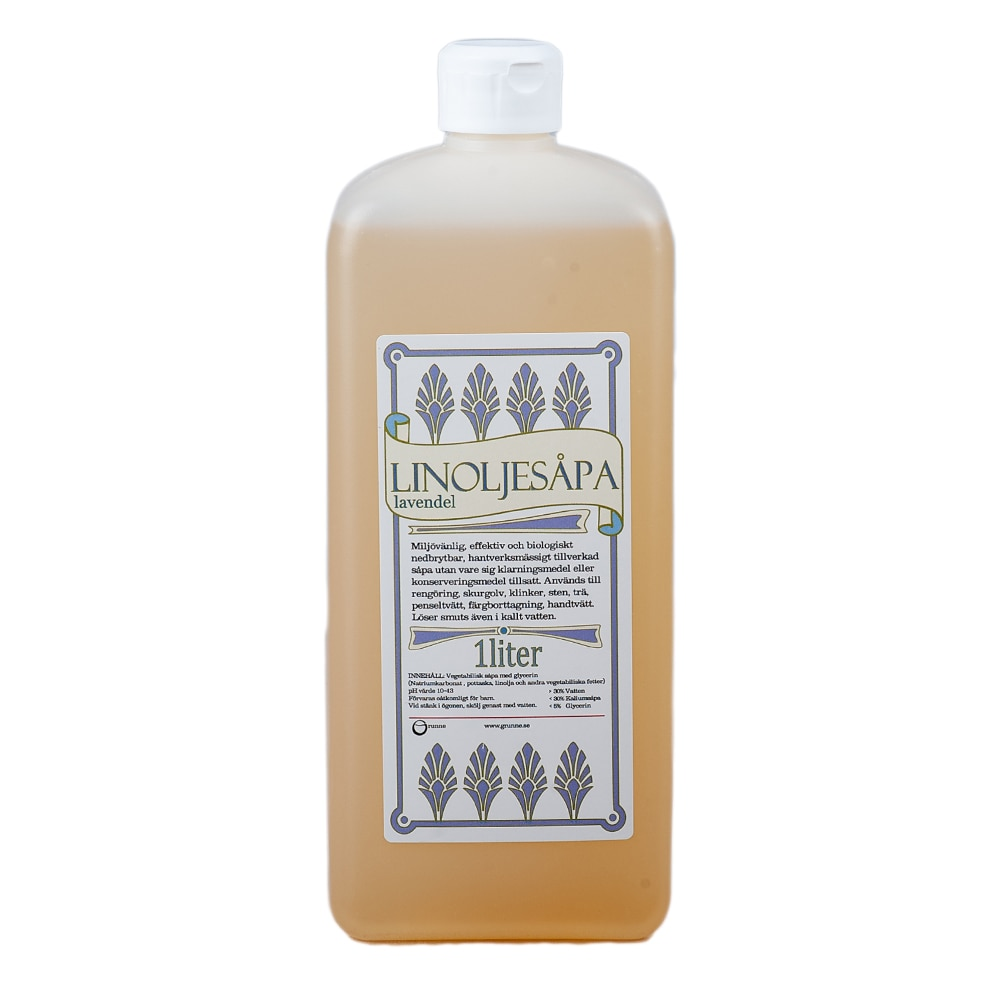 Linseed Oil Soap Lavender 1L