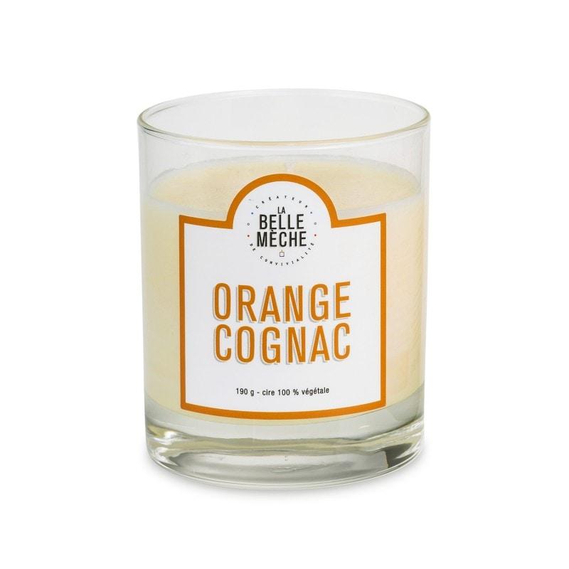 Orange Cognac Scented Candle